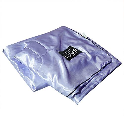 Asixx Summer Bedsure Quilt Set, waschbare Ice Silk Sommer-Klimaanlage Bettdecke aus 100% Eisseide für Kinder und Erwachsene(200 * 230cm) -