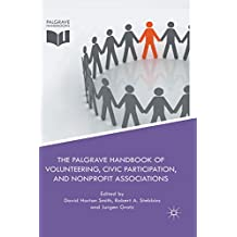 The Palgrave Handbook of Volunteering, Civic Participation, and Nonprofit Associations