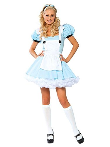 Sassy Alice Fancy dress costume Medium / ()