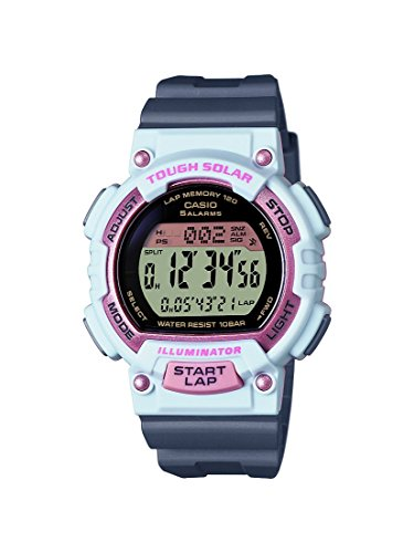 Casio Damen-Armbanduhr Collection Digital Quarz Resin STL-S300H-4AEF (Sport Frauen Casio)