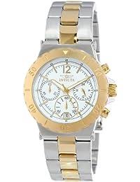 Invicta 14855 - Reloj de cuarzo para mujeres, bicolor