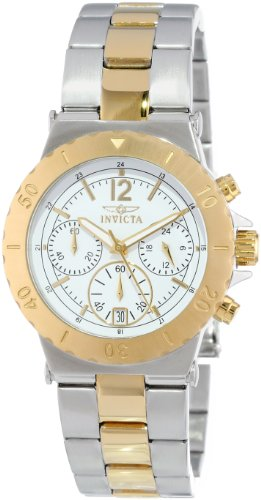 invicta-womens-specialty-quartz-watch-with-white-dial-chronograph-display-and-multicolour-gold-plate