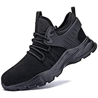 Men's and women's safety shoes and work shoes, lightweight and comfortable, smash-resistant, non-slip, puncture-proof, construction shoes