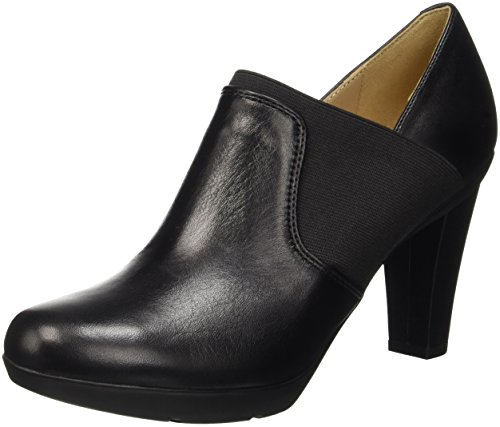 Geox Damen D Inspiration B Pumps, Schwarz (BLACKC9999), 40 EU