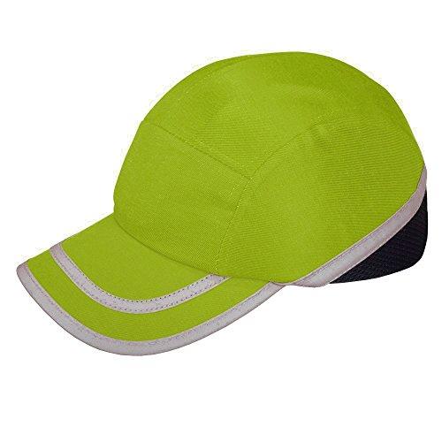 Viwanda - Gorra de Protección ABS con Alta Visibilidad Hi Vis Modelo Deportivo ...