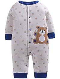 Morbuy Mono de Bebé, Monos para Niños Recién Nacido Espesar Ropa de Otoño e Invierno