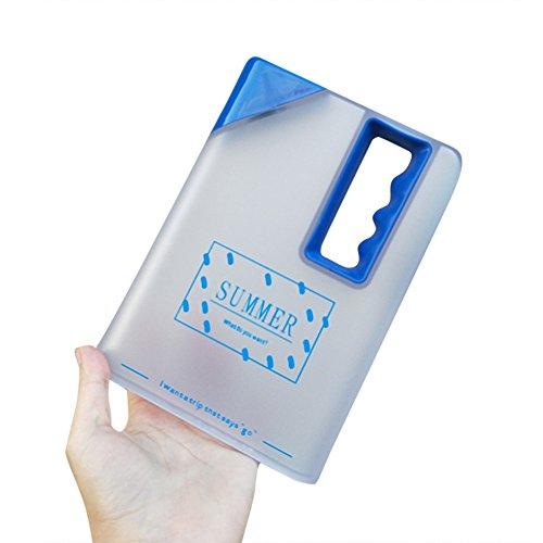 Berrose Pappbecher Wasserbecher Notizbuch Wasserflasche Tasse Kreatives tragbares Weinglas klares...
