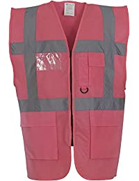Yoko Mens Multi Functional Executive High VIS Waistcoat
