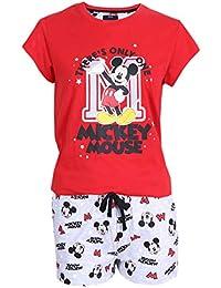 Pijama Mickey Maouse Disney de Color Rojo-Gris