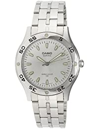 Casio MTP1243D7A - Reloj de Caballero metálico Plata