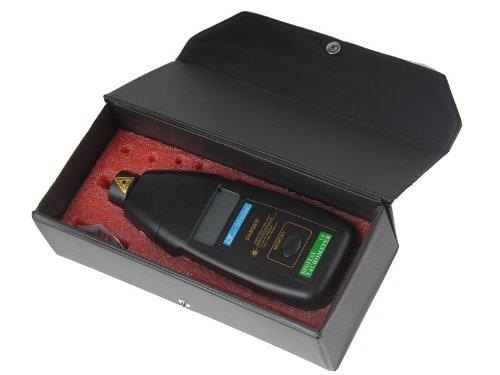tinxi® Laser Umdrehungsmesser DT-2234C (Tachometer, Drehzahlmesser)