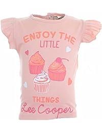 Lee Cooper Camisa Mangas cortas Bebé Niñas Enjoy The Little