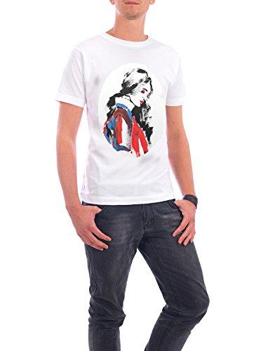 """Design T-Shirt Männer Continental Cotton """"Just Dreaming"""" - stylisches Shirt Menschen Fashion von Sarah Plaumann Weiß"""
