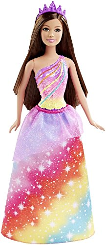 Barbie - DHM52 - Barbie Princesse arc en ciel - Multicolore 0887961216974