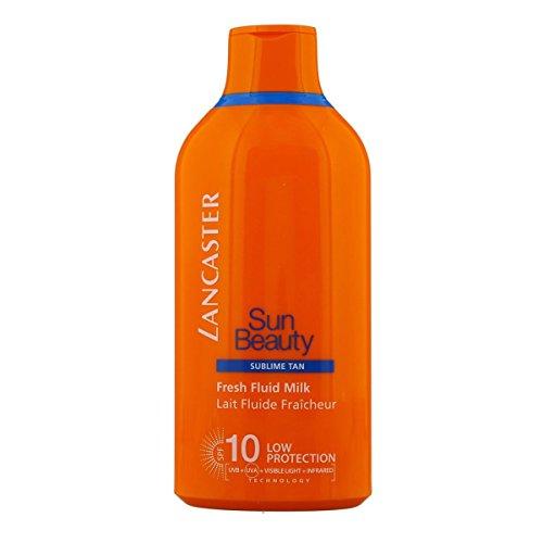 Lancaster Sun Beauty Sublime Tan - Frische Flüssigmilch - Bräunungsmilch, geringer Schutz, Sonnenschutzfaktor 10 - 400 ml -
