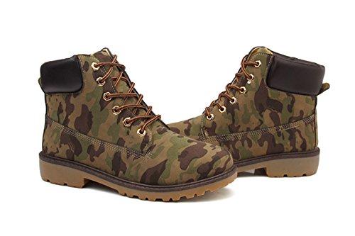 Martin rétro désert boots,bottes outillage ,rangers richelieu grand taille ,chaussure extérieur outdoors,soulier avec coton hiver automne homme adulte couleur camouflage