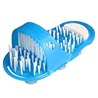 Demana Simple Fashion Foot Easy Massager Slipper Scrubber Brushes Bathroom Easy Cleaning Brush Exfoliating Cleaner Brushes