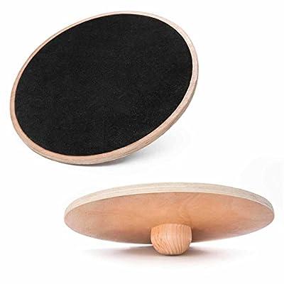 Balance-Board aus Holz »Sema« - Therapiekreisel (Holzkreisel) zur Steigerung der Koordination, Gleichgewicht und der Balance. Das Wackeltbrett bzw. Therapiekreisel : ca.120kg / Größe ca. 45cm (groß) von #DoYourSports