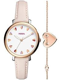 Fossil Damen-Armbanduhr ES4351SET