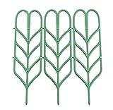 3Stück DIY Garten Blumentopf Mini Rankgitter Pflanze Unterstützung