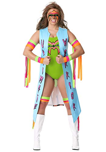 Fun Costumes Ultimate Warrior Kostüm für Damen - XS