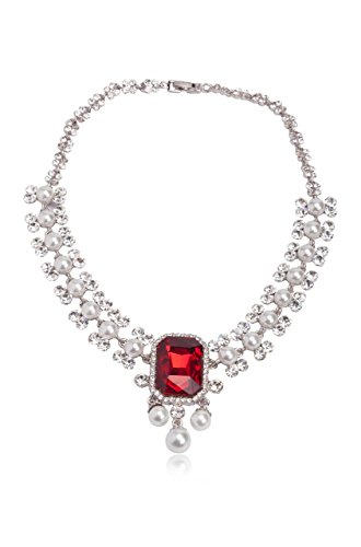 sempre-london-three-times-rhodium-plated-royal-red-ruby-diamond-pearl-designer-necklace-in-cz-crysta