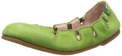 El Naturalista N961, Ballerine donna, Grün (Green), 42