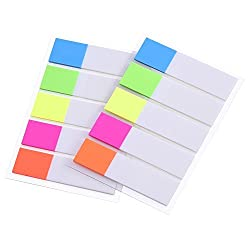 Index Flags Tabs Sticky Note For Page Marker, 2 Sheets, 200 Pieces