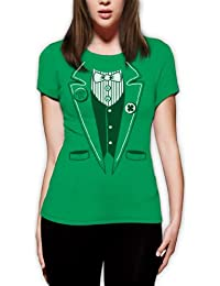 St.Patty Day Irish Tuxedo Frauen T-Shirt