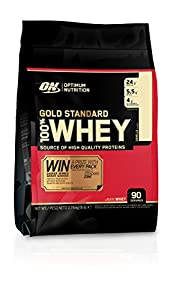 Optimum Nutrition Whey Gold Standard (6lbs) Vanilla, 2.727 kg