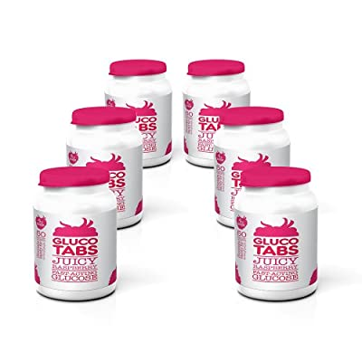 GlucoTabs Rasberry Multipack of 6 Pots (50 tablets/pot) from Owen Mumford Ltd