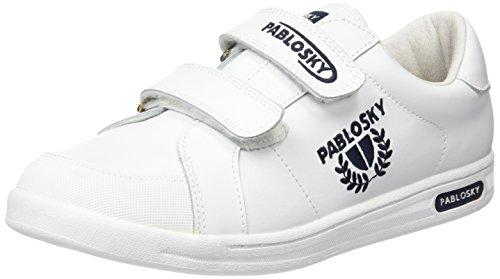 Pablosky Unisex, bambini 900002 Scarpe da Ginnastica Basse Bianco Size: 37