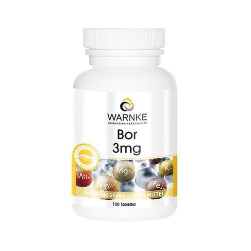 Bor 3 mg, 100 St. Tabletten
