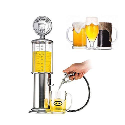 Mini Weinspender Kristall Tankstelle Stil Schnaps Dekanter Bar Zubehör, Trinken Separates Werkzeug Für Bier, Scotch, Bourbon, Wodka Und Wein (Bourbon-bier)
