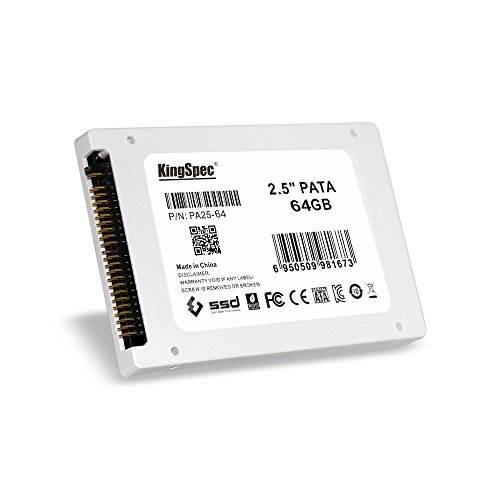 KingSpec PATA (IDE) 6,3 cm 6,3 cm MLC Digital SSD Solid State Drive für PC Laptop Notebook 64G