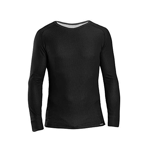GripGrab Ride Thermal Langärmeliges Unterhemd Unterwäsche, Schwarz, M