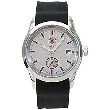 Relojes Calgary Premium Manhattan. Reloj Gama Premium cronógrafo de Hombre con Correa de Silicona Negra