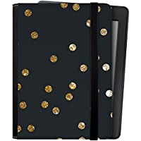 caseable - Funda para Kindle y Kindle Paperwhite, Gold Dots