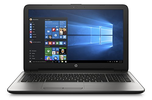 "HP 15-ay031nl Notebook, Intel Core i3-5005U, RAM 4 GB, Hard Disk 500 GB, Scheda Grafica Intel HD 5500, Display 15.6"", Argento"