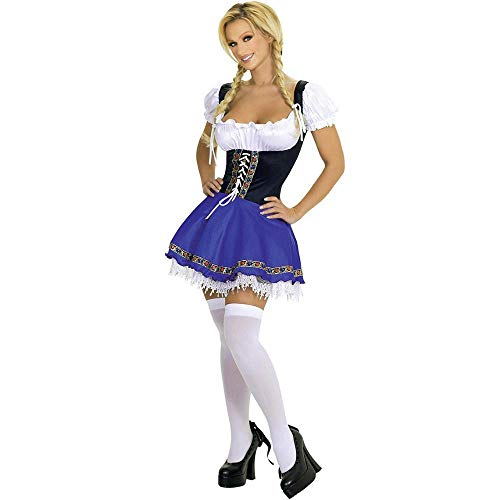 WWAVE Lady Sexy Maid Kostüm Cosplay Halloween Kostüm Dessous Magd Outfit Kostüm