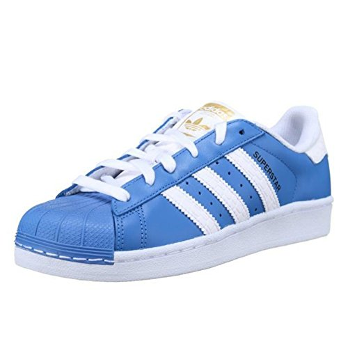 Adidas Superstar Schuhe ray blue-running white-runnning white - 45 1/3
