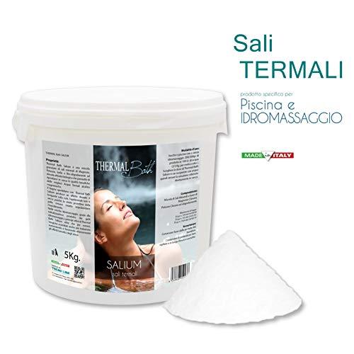 Thermal Bath SALI TERMALI per Piscina e Idromassaggio (Jacuzzi,Teuco,Dimhora,Intex,Bestway,ECC SALIUM 5 kg. - Spedizione IMMEDIATA