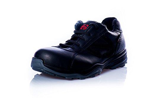 """Heckel Chaussure De Sécurité """"RUN-R Serie"""" ACE édition S1P sans métal, extrêmement légères, différents Taille cuir-noir"""