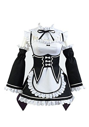 Preisvergleich Produktbild Fuman Re:Zero Life in a Different World from Zero Rem Outfit Damen Maßanfertigung