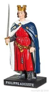 Alxshop - Figurine de dŽcoration en rŽsine : Philippe Auguste ou Philippe II