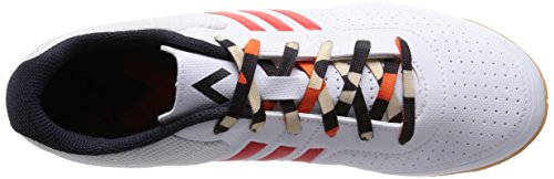 adidas ACE15.3 CT, Chaussures de football homme Blanco / Naranja / Gris
