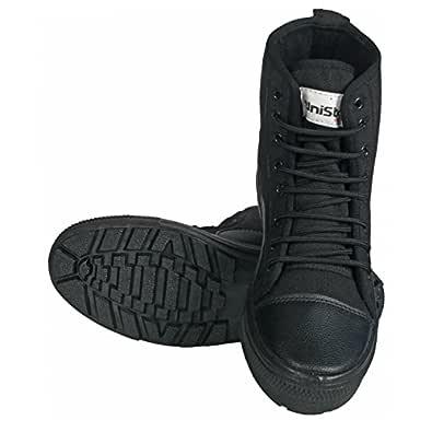 Unistar Men's Black Boots-5 UK (39 EU) (1001_5_Blk)