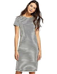 4fb49ffee3 Joules Cream Navy Stripe Riviera Short Sleeve Dress
