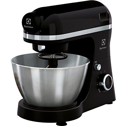 Electrolux ekm3700800W 4L noir–Robot de cuisine (4l, noir, rotatif, 1,2m, acier, métal)