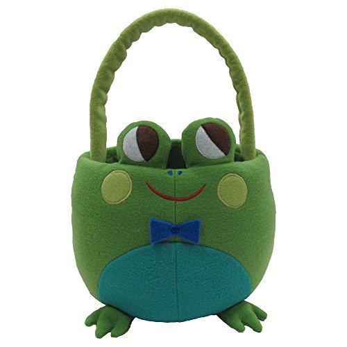 Frosch Plush Basket Jumbo Korb Tasche -